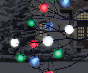 Cordless Outdoor Lighted Ornaments