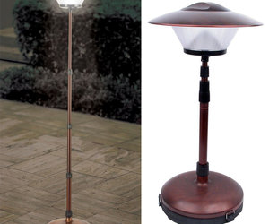 Cordless Telescoping Patio Lamp