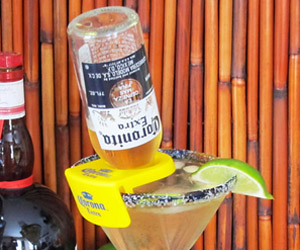 CoronaRita Drink Clips For Margarita Glasses