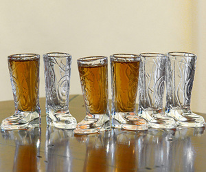 Cowboy Boots Shot Glasses