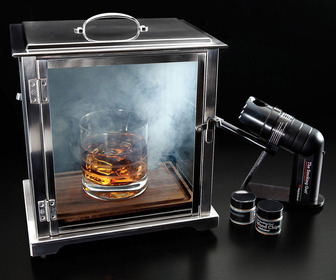 Crafthouse Cocktail Smoking Box with Smoke Gun