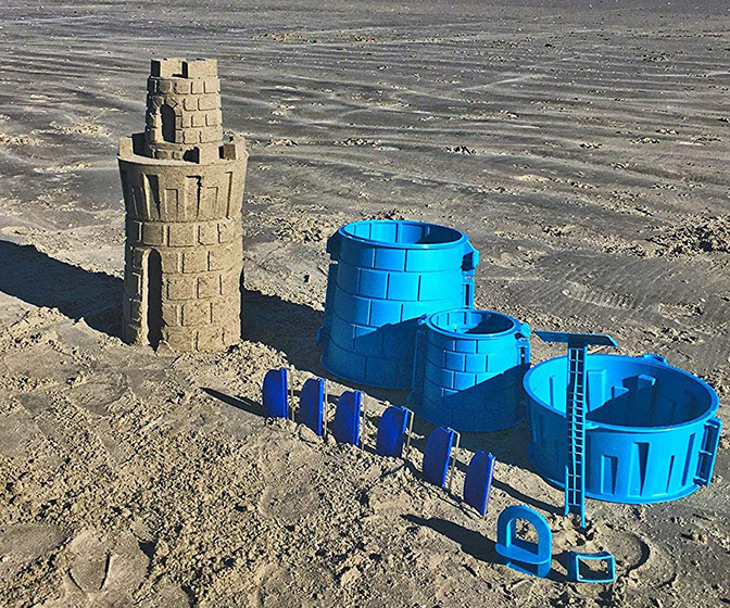 Create A Castle - Sand or Snow Castle Split Mold Building Set