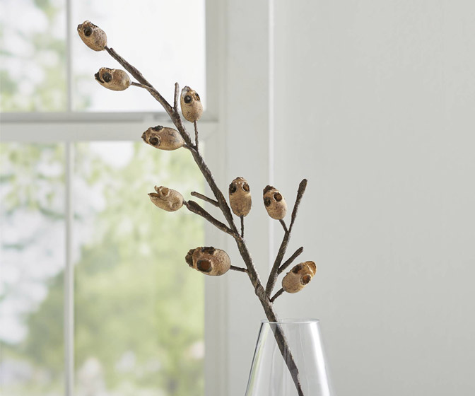 Creepy Skull Twig Stems