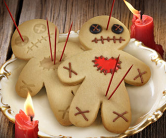 Cursed Voodoo Doll Cookie Cutter / Stamper