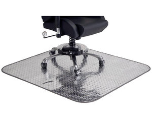 Diamond-Plate Chair Mat
