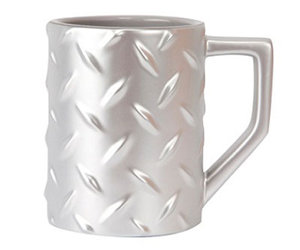 Diamond Plate Coffee Mug