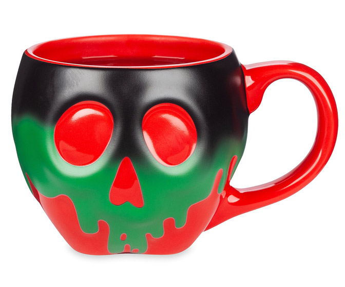Disney Color-Changing Poisoned Apple Mug
