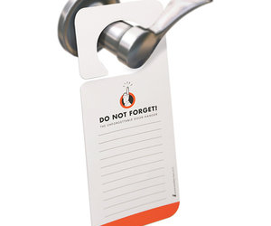 Do Not Forget - Door Knob Reminder Notes