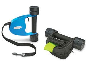 Dog Leash Dumbbells