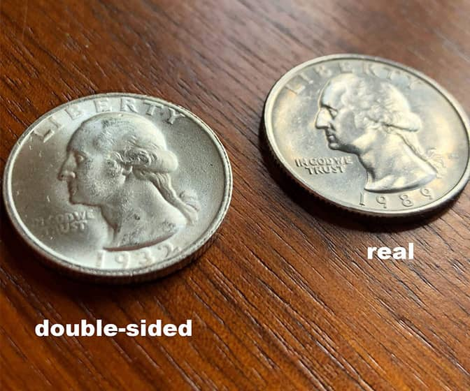 Double-Sided Quarters