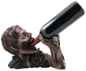 Drinking Zombie Wine Bottle Holder