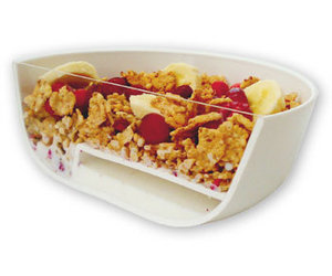 Eatmecrunchy Cereal Bowl - No More Soggy Cereal!