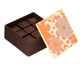 Edible Chocolate Box of Chocolates