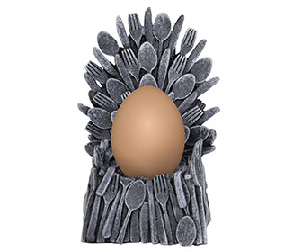 Egg Of Thrones - Iron Throne Egg Cup