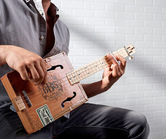 Electric Cigar Box Slide Guitar