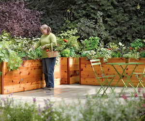 Elevated Cedar Raised Garden Beds
