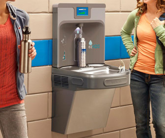 Elkay EZH2O - Filtered Water Bottle Filling Station and Water Fountain
