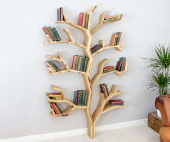 Elm Tree Bookshelf
