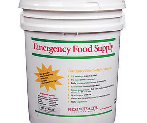 Emergency Food Kit Bucket - 275 Servings / 20 Year Shelf Life!