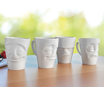 EmotiMugs - Coffee Mugs With Expressive Faces