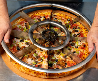 Equalizer - Equal Slice Rocker Pizza Cutter