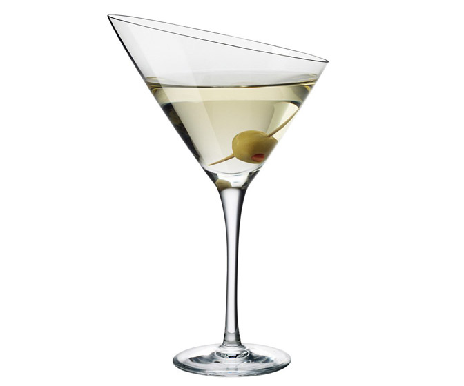 Eva Trio Angled Martini Glass