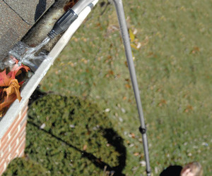 Extended Reach Gutter Cleaning Wand