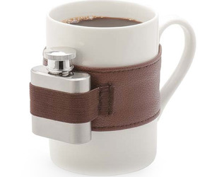 Extra Shot Coffee Mug Plus Mini Flask