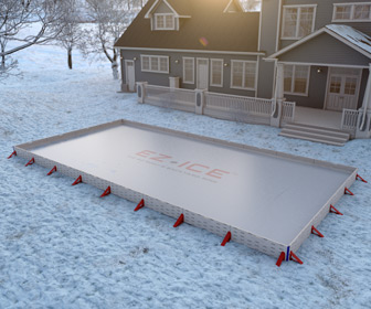 EZ ICE - 60 Minute Backyard Ice Rink