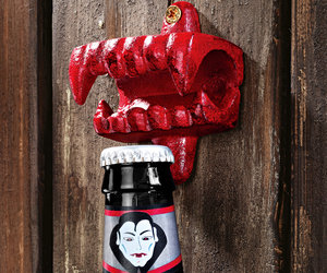 Fangs of the Vampire Cast Iron Bottle Opener