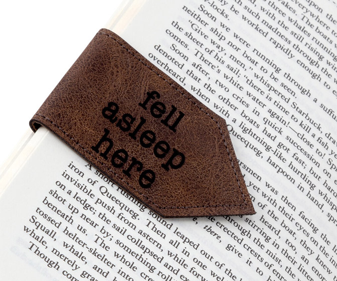 Fell Asleep Here - Handy Magnetic Bookmark
