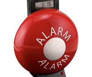 The Fire Bell Alarm Clock  is LOUD!