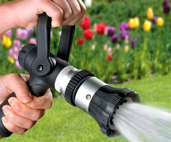 Fireman's Hose Nozzle - Ultimate Hose Sprayer