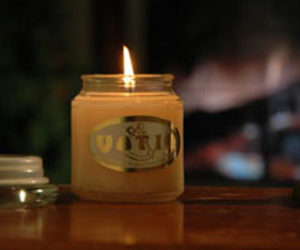Fireplace Scented Candles