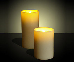 Flameless LED Candles - Blow On, Blow Off