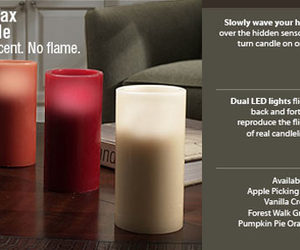 Flameless Wax Sensor Candles - Real Wax, Real Scent, No Flame