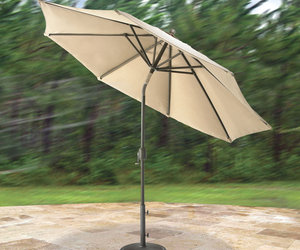 FLEXX Wind Adapting Market Umbrella