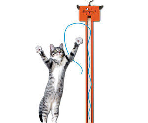 Fling-ama-string Motorized Cat Toy
