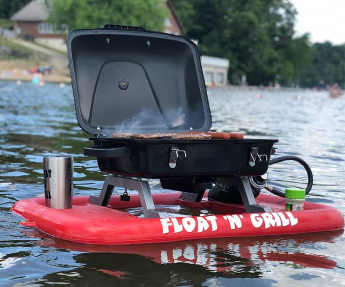 Float 'N' Grill - Portable Propane Floating Grill
