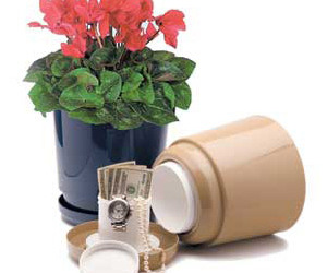Flower Pot Safes