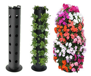 Flower Tower - Freestanding Vertical Planter