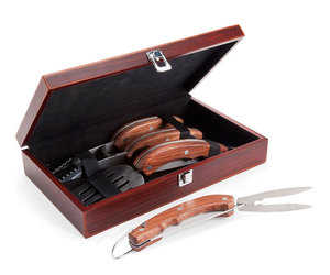 Folding Grill Tools Boxed Set