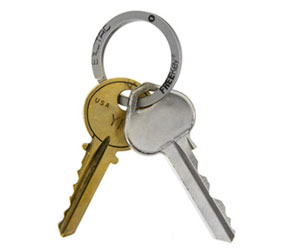 FreeKey Key Ring- Attach and Remove Keys With Ease