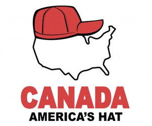 Funny T-Shirt - Canada: America's Hat