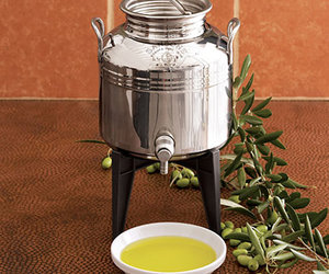 Fustino - Stainless Steel Olive Oil Dispenser