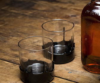 The Gentleman's Glassware - Hand-Dipped Whiskey Glasses
