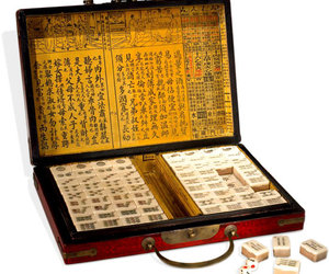 Genuine Chinese Lacquered Mahjong S