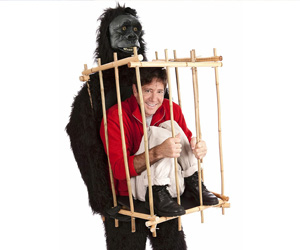 Get Me Outta This Cage Halloween Costume