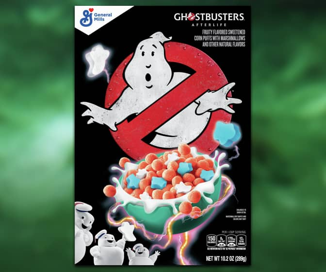Ghostbusters: Afterlife Cereal