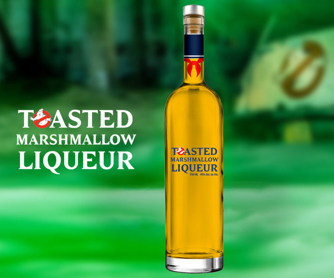 Ghostbusters Toasted Marshmallow Liqueur